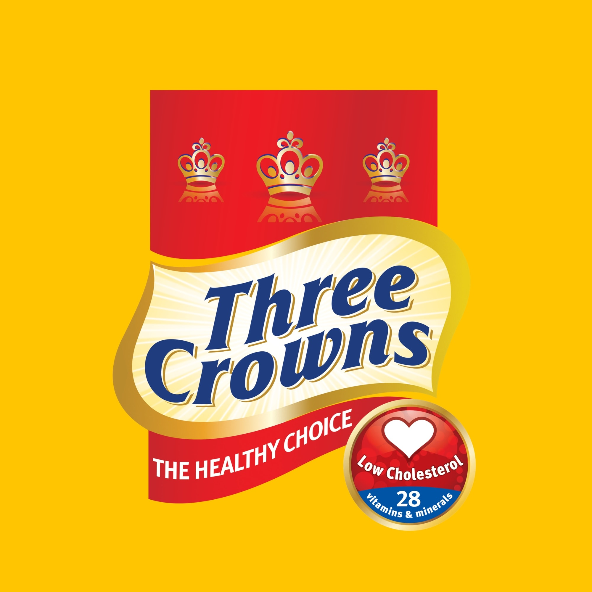 Logo of Three Crowns a FrieslandCamina brand