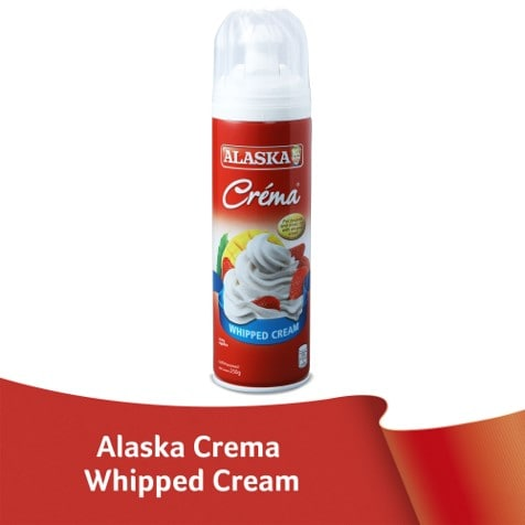 Alaska Créma Whipped Cream