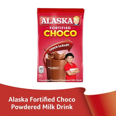 Alaska Fortified Powdered Milk Drink Choco