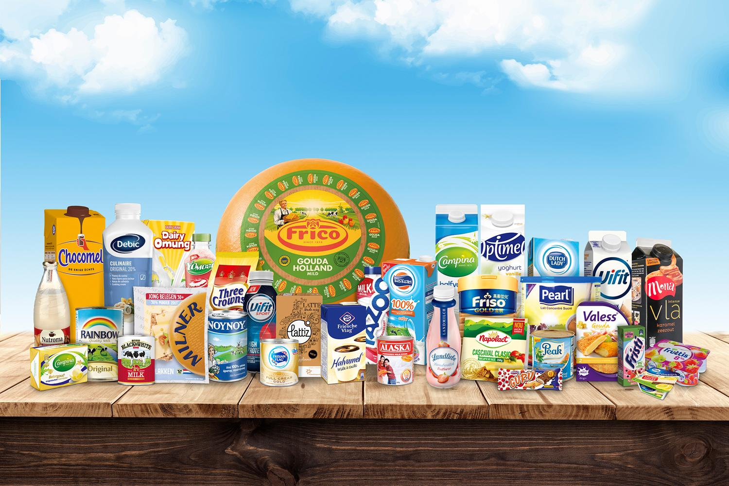 Product Range FrieslandCampina