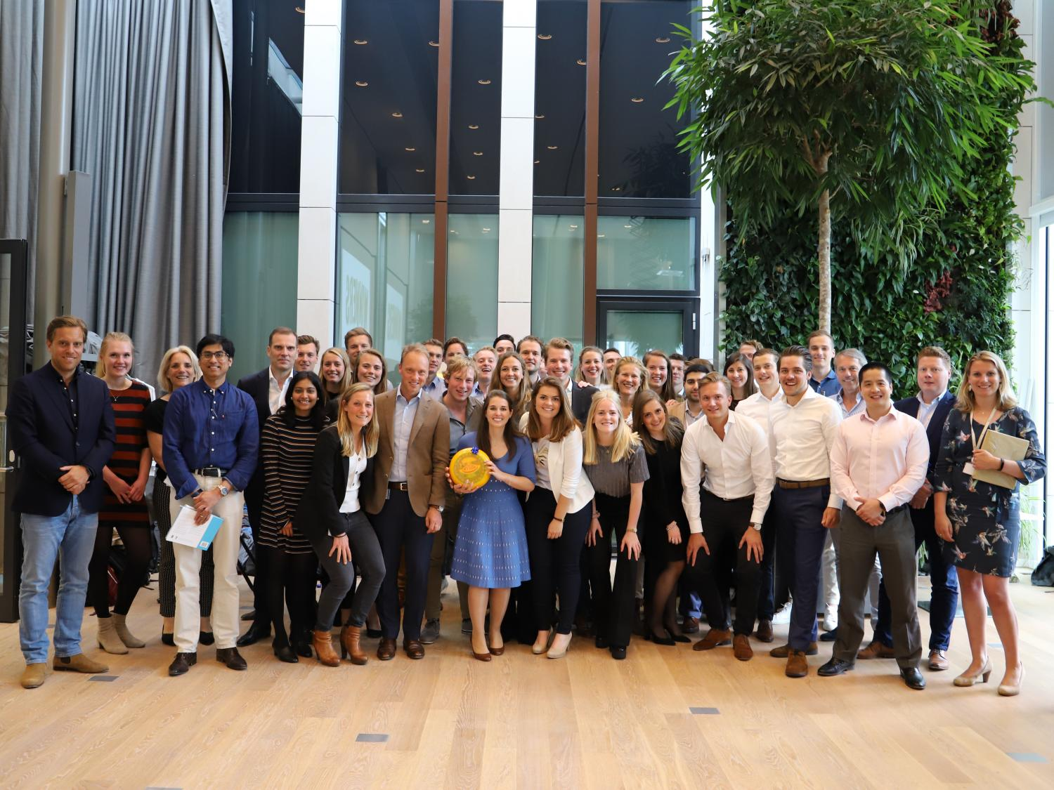 Graduates at FrieslandCampina