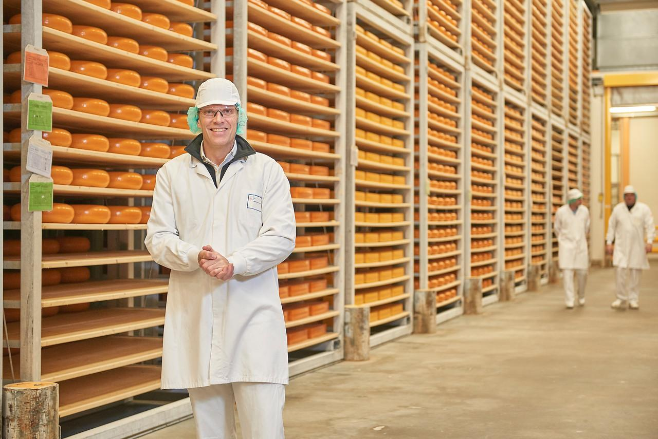 Cheese Factory in the Netherlands