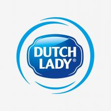 Logo of Dutch Lady a FrieslandCampina brand