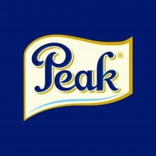 Logo of Peak a FrieslandCampina brand